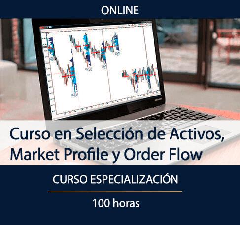 Curso de Selección de Activos, Market Profile y Order Flow
