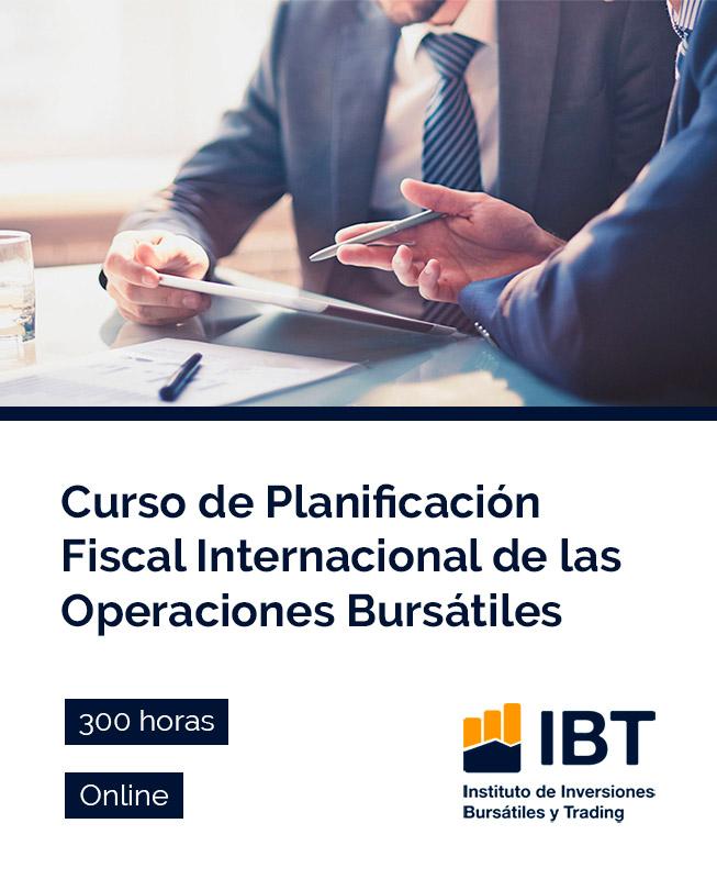 Curso de Planificación Fiscal Internacional de las Operaciones Bursátiles