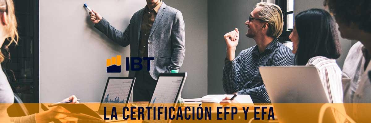 Renovación certificados efp y efa